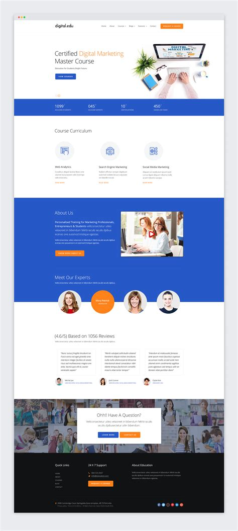 digital marketing websites digital marketing seo website template jitu chauhan