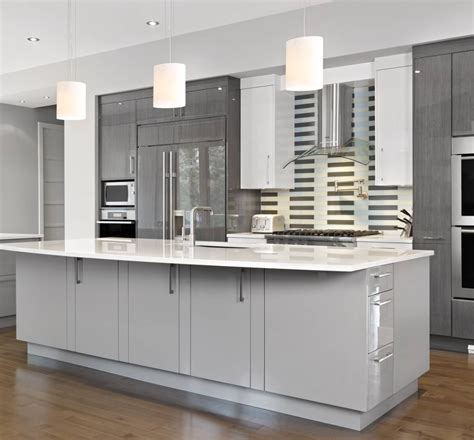 gray kitchens with white cabinets 25 grey kitchen design ideas for modern kitchen home 6910