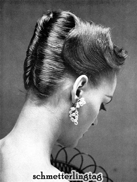 How To Create 50s Hairstyles For Hair by 1950s Atomic Hairstyle Book Create 50s Hairstyles