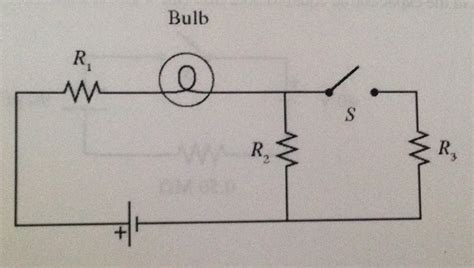 Solved Light Bulb Connected The Circuit Shown