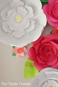 How To Make Large Paper Flower Backdrop - flower shop near me