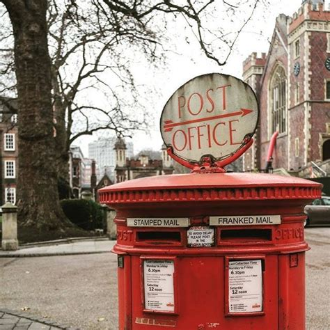 Finding nate's coffee has never been easier! How cute is this old postbox located near Lincoln's Inn ...