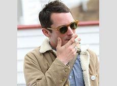Elijah Wood puffs on cigarette as he is honoured at horror
