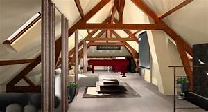 amenager les combles pour un gain d39espace dans la maison With salle de bain design avec formation décoration d intérieur belgique