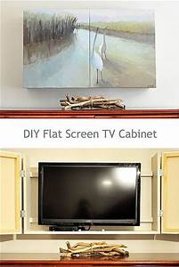 best 25 tv covers ideas on pinterest tv cover up tv With what kind of paint to use on kitchen cabinets for large forest canvas wall art