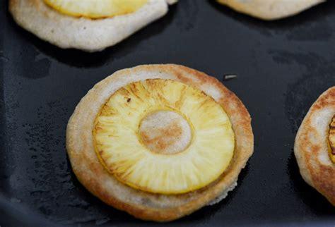 pineapple pancakes snooze pineapple upside down pancakes recipe dishmaps