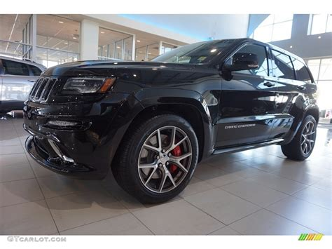 black jeep cherokee 2016 2016 brilliant black crystal pearl jeep grand cherokee srt