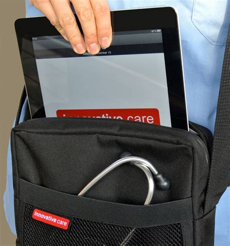 ipad tablet shoulder carry bag  travel work  medical