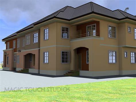 bedroom duplex  attached  bedroom flat modern  contemporary nigerian building designs