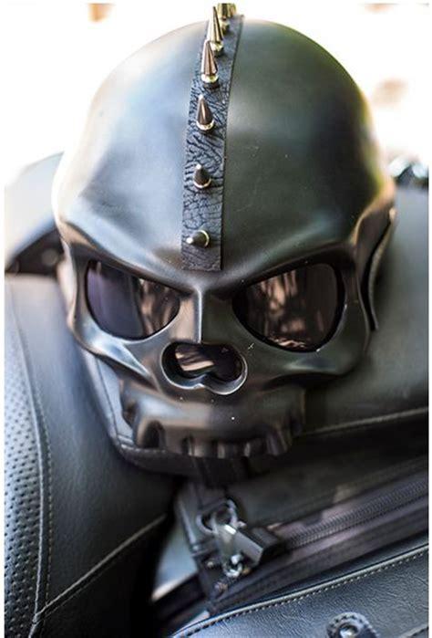 Custom Skull Motorcycle Helmets