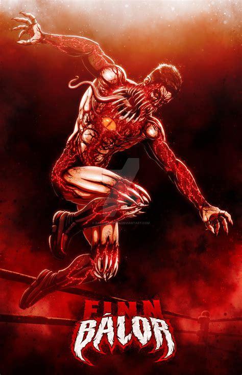 The Demon King: Finn Balor by ZachSmithson on DeviantArt