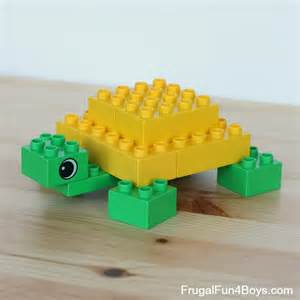 small lot home plans lego duplo animals to build