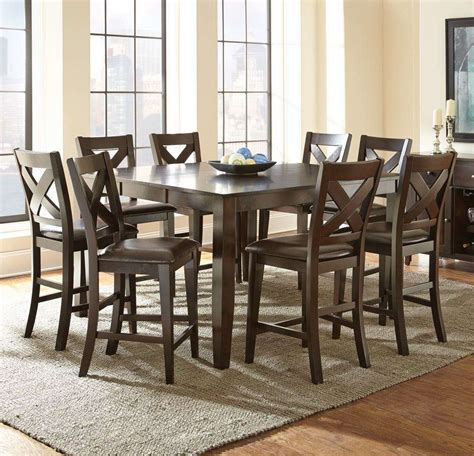 counter height dining room table sets counter height dining room sets dining room sets glass
