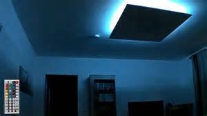 led fã r wohnzimmer rgb led deckenle indirekte beleuchtung