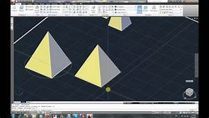 Autocad 3d Modeling Tutorial Part 6
