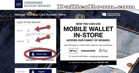 Furthermore, accessing your gap visa credit card log in, you won't be able to perform some important activities in your gap credit card account. GAP Credit Card Online Application   GAP Credit Card Login - Dailiesroom