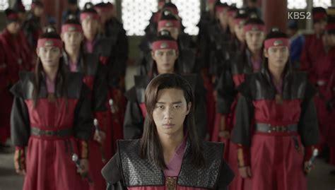 throne chair for hwarang episode 20 dramabeans drama recaps