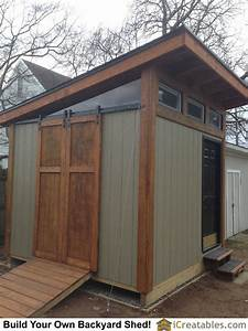 10x10, Shed, Plans, With, A, Modern, Design