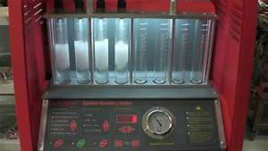 Full Throttle Speed Fuel Injector Bench Testing  U0026 Cleaning