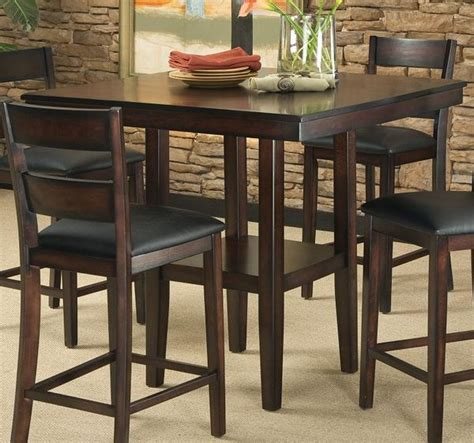 chair height for counter height table tahoe counter height table w 4 chairs katy furniture