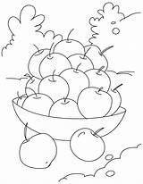 Cherry Coloring Pages Sweet Cherries Sheets Lobster Boat Printable Clip Bowl Clipart Cher sketch template