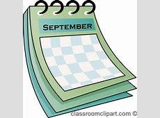 September Calendar Clipart – 101 Clip Art