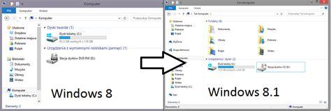 jak zmienić quot grupowanie według quot w ten komputer windows 8 1