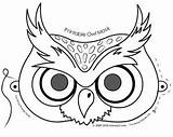 Coloring Owl Mask Reply Leave Cancel sketch template