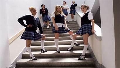 Legs Schoolgirls Uniforms Wallpapers Professions Wallpaperup
