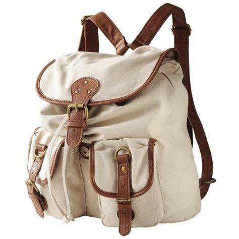 sac 195 dos femme en toile tous les accessoires collection printemps et 233 2011