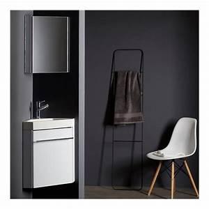 Lave Mains D39angle Complet Pour WC Avec Meuble Design