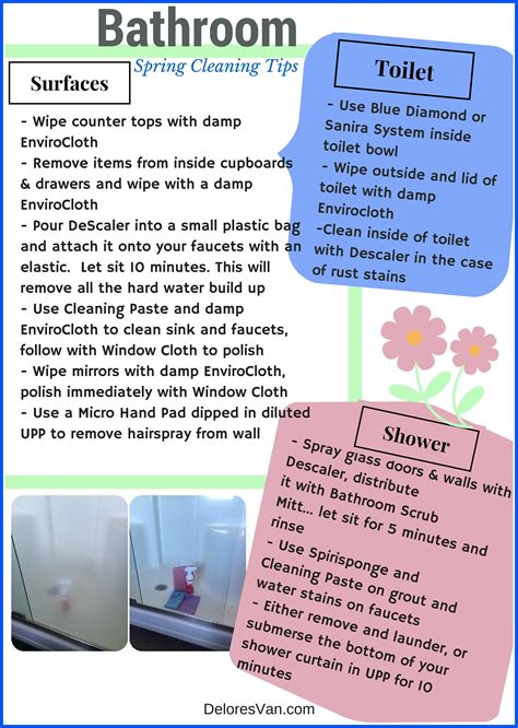 Unclog Shower by Norwex Spring Cleaning Tips Bathrooms Amp Rooms Clean