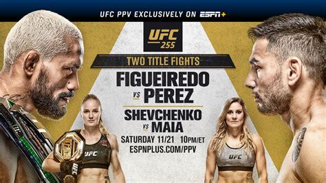 UFC 255 results - Figueiredo vs. Perez, Shevchenko vs. Maia