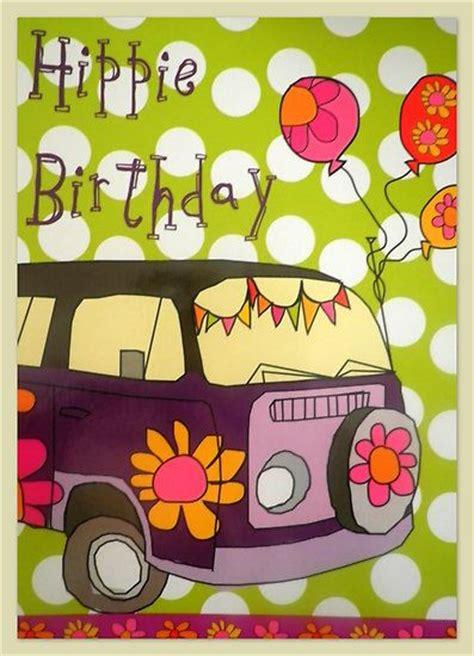 hippie birthday ecard birthday graphics category