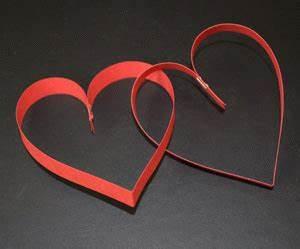 Herz Aus Papier Basteln : herz aus papierstreifen basteln ~ Lizthompson.info Haus und Dekorationen