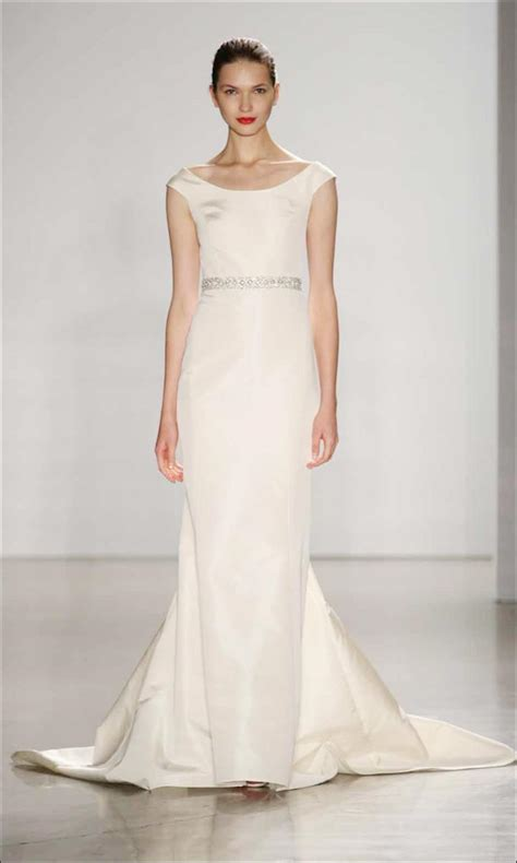 What Is A Boat Neck Dress by Wedding Dress Neckline Everything You Ever Wanted To Know