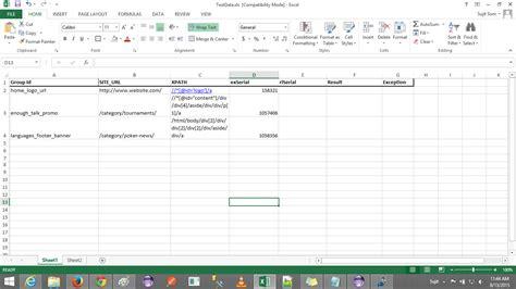 selenium webdriver  data  excel stack overflow