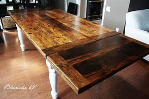 Another option for our reclaimed harvest tables… Blog