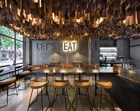 home interiors store shade burger restaurant branding interior design grits