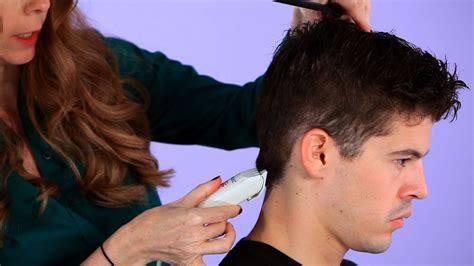 cut  mans hair  clippers hair cutting youtube