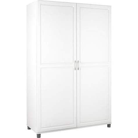 closetmaid 48 wide wardrobe cabinet closetmaid 48 in multi purpose wardrobe cabinet in white