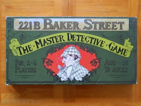 games board sherlock holmes game bored fun play toys street 221b