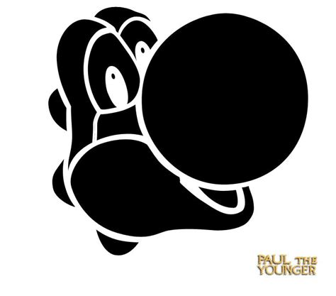 Super Mario Bros Boo Pumpkin Carving Pattern Email Facebook Google Twitter 0 Comments