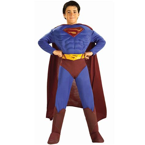 superman returns deluxe boys costume 28 99
