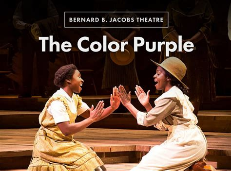 color purple broadway hudson in the color purple all tickets inc