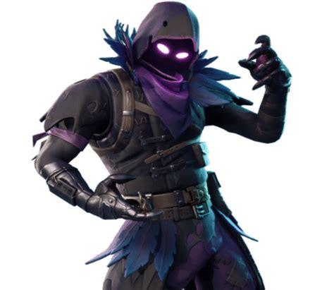 fortnite skins leaked  raven legendary outfit revealed