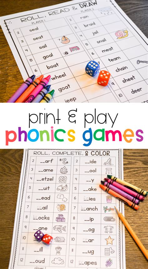 phonics games   grade susan jones teaching