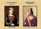 QUADRO DE BLANCHE DE NAVARRE E FILIPPO VI DE VALOIS ...