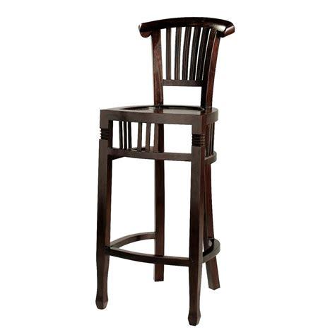 chaise de bar chaise de bar lot de  watford noyer