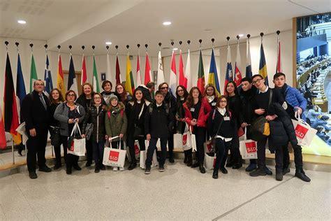 parlamento europeo sede bruxelles canicatt 236 l istituto comprensivo quot g verga quot visita la sede